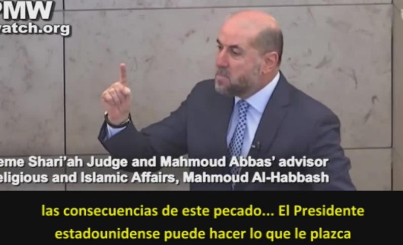 """Asesor de Abbas incita a la guerra religiosa: El reconocimiento del Presidente estadounidense Trump de Jerusalén como la capital de Israel es """"un crimen contra la humanidad"""" - Por Itamar Marcus y Nan Jacques Zilberdik"""