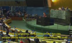 """Nikki Haley habla claro en la Asamblea General de la ONU: """"Nosotros recordaremos vuestras votaciones. Y pasaremos nuestra embajada a Jerusalén"""""""