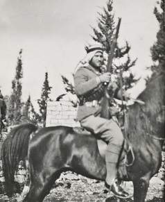 hasan_salama_on_horseback_1939