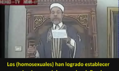 Jeque Tunecino - ¡Los Homosexuales Deberían ser ejecutados, arrojados desde un lugar alto y luego lapidados a Muerte!