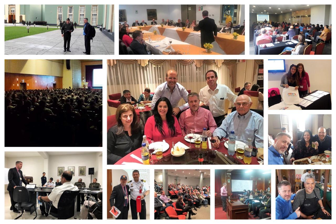 El equipo de Hasbará Perú – Cerrando actividades exitosas en el país