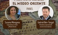 Debate con la periodista española-uruguaya Susana Mangana