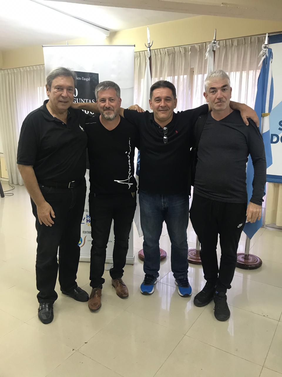 Presentación del Libro 300×300 en Hebraica y Cissab Argentina