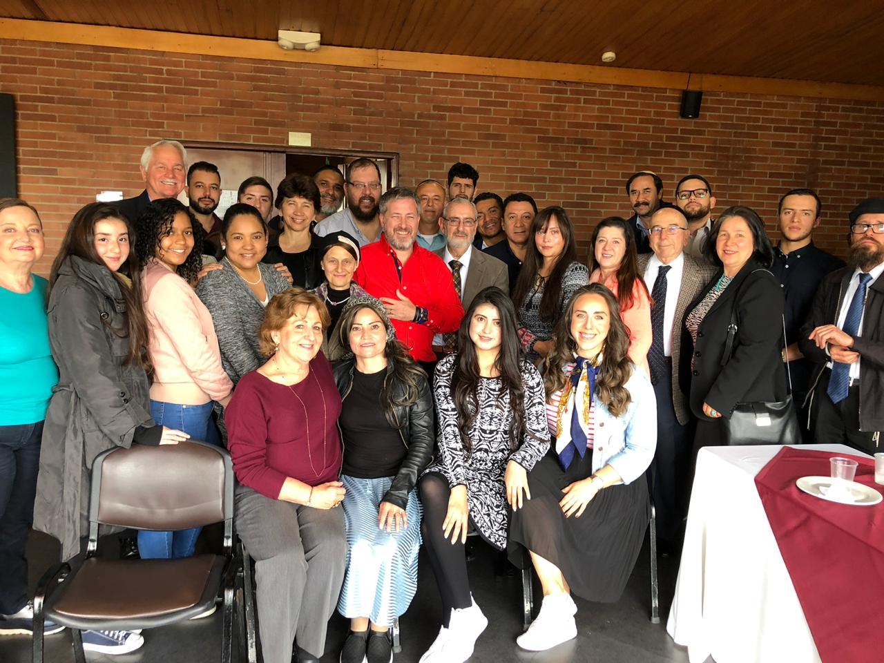 Junto a la Comunidad Yovel de Bogotá y con grupos emergentes judíos – Organizado por Comunidad Judía de Colombia