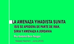 La amenaza Yihadista sunita - ISIS se apodera de parte de Irak, Siria y amenaza a Jordania