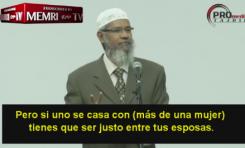 El clérigo Zakir Naik justifica la poligamia y la esclavitud en el Islam