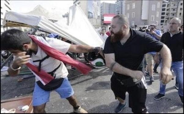 El modelo iraní: Aplastar las protestas en el Líbano y en Irak - Por Seth Frantzman (Middle East Forum)