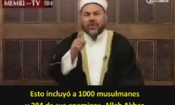 ¡Malabarismo dialéctico del Jeque Palestino! Solo murieron 1284 en las redadas de Mahoma