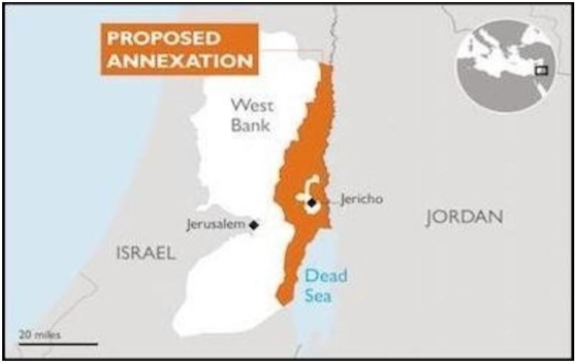 La anexión israelí del Valle del Jordán es compatible con una solución de dos estados – Por Matthew Mainen (The Jerusalem Post)