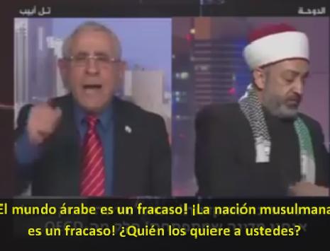 """Mordejai Keidar humilla en un debate en Al-Jazeera a un jeque: """"¡Nosotros no queremos paz con ustedes!"""""""