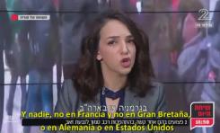 """Periodista árabe-israelí musulmana Lucy Aharish: """"Yo me avergüenzo de la humanidad deja hacer en Siria"""""""