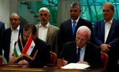 """El """"artículo secreto"""" del acuerdo de El Cairo entre Hamás y Fatah (Autoridad Palestina) – Por Jacky Hugi (Maariv 13/10/2017)"""