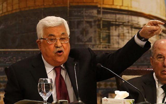 """Alemania critica a Abbas por sus comentarios """"antisemitas"""" – Times of Israel"""