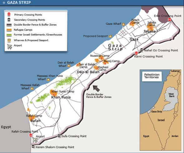 Gaza está en bancarrota y aún así se prepara para la Guerra – Por Jonathan S. Tobin