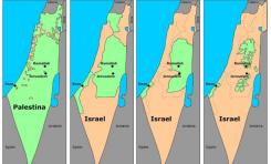 El mapa de la mentira palestina