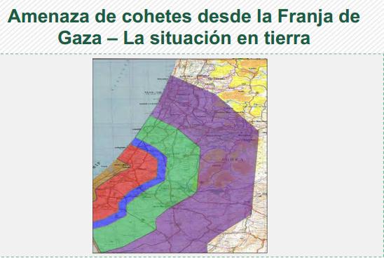 Amenaza de cohetes desde la Franja de  Gaza – La situación en tierra (Meir Amit)