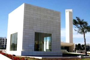 Mausoleo de Yasser Arafat en Ramallah