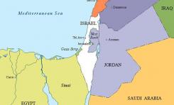"""Miembro de Fatah clama por """"dos estados en un mismo lugar"""", separados por una frontera virtual."""