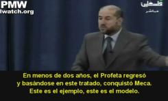 Mahmoud Al-Habbash (Asesor de Abbas) – El modelo es la mentira de Mahoma en Huddaybyah