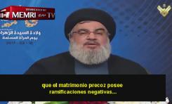 Hassan Nasrallah (Hezbollah) defiende el matrimonio con criaturas y ataca a los del mismo sexo