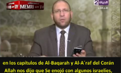 """Clérigo egipcio: """"Es cierto que Allah convirtió a algunos de los israelitas en Monos y Cerdos"""""""