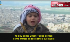 Adoctrinamiento a criaturas: Niño jordano jura martirizarse por Jerusalén