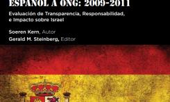 ¡Hostilidad española hacia Israel! El apoyo del gobierno español a las ONG palestinas e israelíes