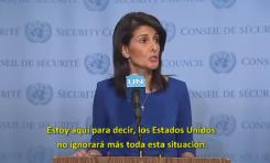 """¡Bravo Embajadora Nikki Haley! – """"Vamos a terminar con la polarización anti-israelí de la ONU"""""""