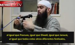 """""""Exorcista"""" británico: """"Debemos odiar la Navidad y el día de San Valentín... porque se burlan del islam"""""""