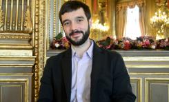 Pablo Bustinduy (Partido Podemos de España) hace el ridículo en Gaza-Autoridad Palestina