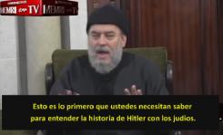 """Teorías Islamonazis de un """"académico"""" Palestino: """"Allah convirtió a los judíos en monos y cerdos"""""""