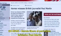 El Periodista británico secuestrado en Gaza (Palestina) Paul Martin cuenta su historia