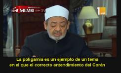 Jeque de Al-Azhar Ahmed  Al-Tayeb: La poligamia está prohibida si no es justa con las esposas