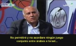 """Presidente del Fútbol Palestino llama a los israelíes """"rufianes"""" y """"nazis"""""""