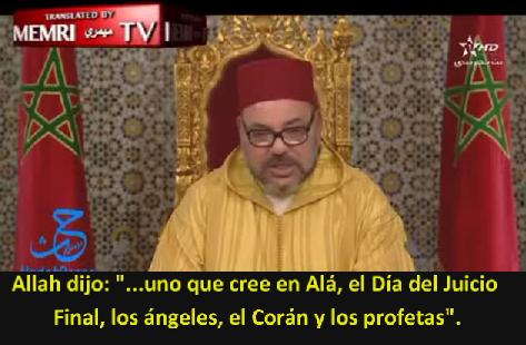 Rey Marroquí Mohammed VI - ¿Alguien cuerdo puede creer en las promesas del yihadismo?