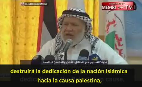 """Mentiras Palestinas: """"Normalización de Relaciones con Israel conduce a esparcir el Sida"""""""