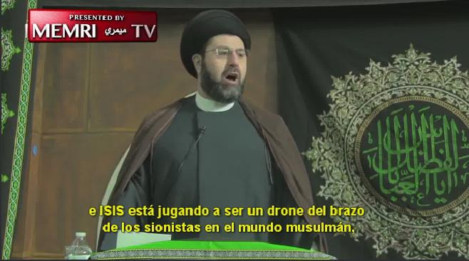 Delirante Imam chiita de Detroit: ISIS es un invento de Israel y los sionistas