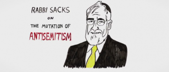 El Rabino Sacks frente a la mutación del Antisemitismo
