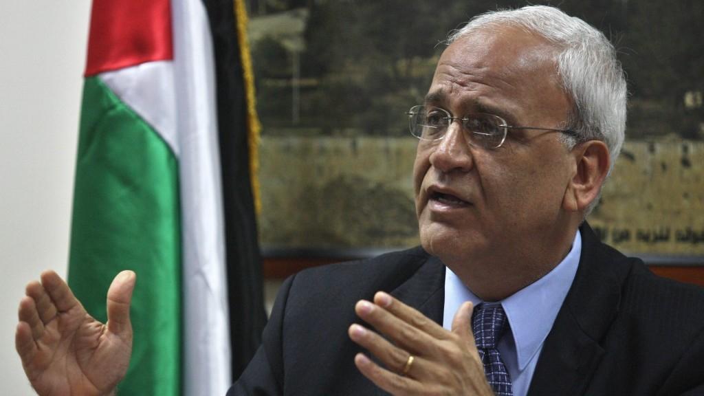 Documento del Jefe de negociaciones palestino Saeb Erekat
