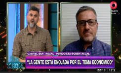 Gabriel Ben-Tasgal en Mejor de Noche (Argentina) sobre la segunda ola de Covid en Israel