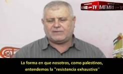 Funcionario de la organización Yihad Islámica: La resistencia comenzará con canciones, seguido de rocas, cuchillos, armas de fuego y cohetes