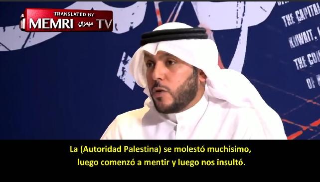 Investigador kuwaití: La Autoridad Palestina es una desagradecida; apoyan a Irán y a Turquía