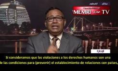 Ex-funcionario sudanés: No puedo negar que Sudán está dispuesto a negociar el normalizar relaciones con Israel