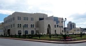 Sede de la casa del Presidente Al Muqata'a en Ramallah59