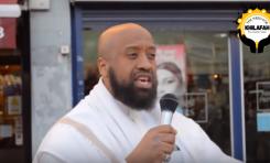 """Islamistas británicos revelan """"su plan"""" en perfecto inglés y en plena calle"""