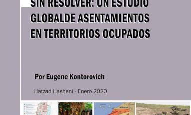 Un estudio global de asentamientos en territorios ocupados