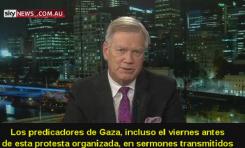 """Sky News Australia: """"¿Por qué Israel le dispara a palestinos de Gaza en su frontera?"""