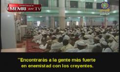 """Sermón en Sudán del Jeque Al-Karouri: """"Los judíos están detrás de la masacre en Nueva Zelanda"""""""
