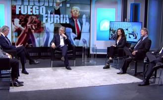 Gabriel Ben-Tasgal en panel en TV (España): Un año del gobierno de Donald Trump
