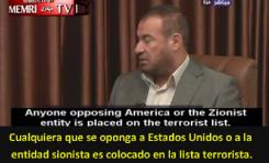 """Fathi Hammad (Hamás) """"Terrorista Mundial"""" según el Departamento de Estado EE.UU."""
